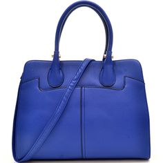 Dasein Faux Buffalo Stud Accented Handle Briefcase with Removable Shoulder Strap - Overstock™ Shopping - Great Deals on Dasein Tote Bags