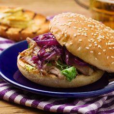 Burger au magret de canard fumé