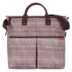 Skip Hop Duo Special Edition Diaper Bag - Plum Sketch