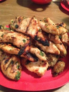 Chipotle cilantro chicken with cilantro lime dipping sauce- Pinterest recipe TESTED, TRIED, see what we thought!