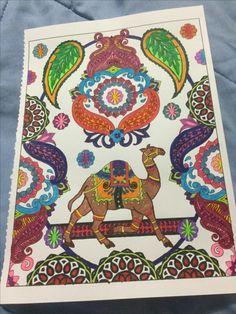 Neon Colors, Mehndi Designs, Coloring, Drawings, Creative, Fun, Inspiration, Ideas, Home Decor
