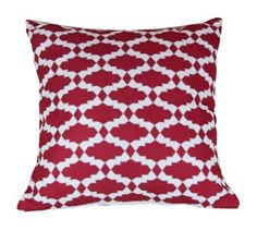 43 x 43 cm patrón geométrico diseño del enrejado marroquí cojín en negro…