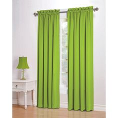 Yay Lime Green Blackout Curtains I Was Worried I Wouldn