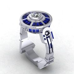 Geek love is the best love. Show yours with these 23 geeky wedding rings.