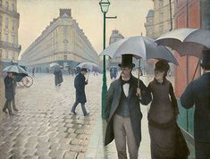 Gustave Caillebotte (French, 1848–1894)  Paris Street; Rainy Day, 1877