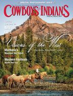 Cowboys & Indians Magazine. For many years this has been one of the finest magazines on the Western lifestyle. The quality has not declined one bit! Even the ads are fabulous! Exquisite interior design and home furnishings,  homes and properties, interviews, Western and Native American art, jewelry, western fashions for women and men, travel, events, and outdoor activities.