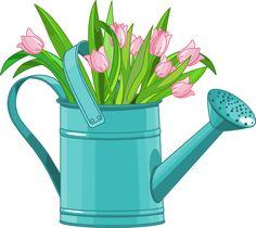 spring flower clip art clip art spring clipart pinterest rh pinterest com  free springtime clipart images