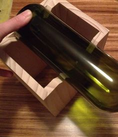 Make your own wine bottle cutter. I can totally do this! Gives you step by step how to make it for pretty cheap!