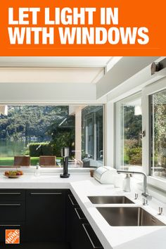 Update your doors and windows for a new look and increased home security. Custom windows and doors sizes, no problem. Kitchen Redo, Kitchen Remodel, Kitchen Design, Kitchen Small, Island Kitchen, Kitchen Ideas, Trends 2018, Interior Design Trends, Design Ideas