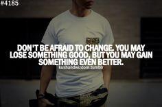 you may...
