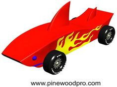 Pinewood derby car idea...