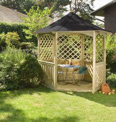 Backyard Small Custom Wooden Gazebo : Selecting The Best Wooden Gazebo