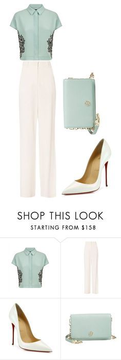 """""""Untitled #212"""" by sweetaoife on Polyvore featuring Jaeger, A.L.C., Christian Louboutin and Tory Burch"""