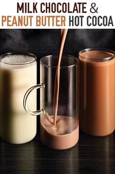 ... Hot Chocolate, Nutella Hot Chocolate and Salted Caramel Hot Chocolate