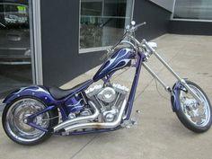 Custom Chopper Motorbike