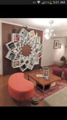DIY Bookshelf - i would love this