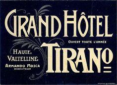 Grand Hotel Tirano