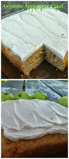 'Awesome' Applesauce Cake {Cinnamon Cream Cheese Frosting included!} – The Baking ChocolaTess