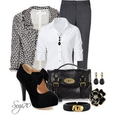 Job Interview by suzi70 on Polyvore