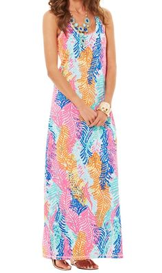 Lilly Pulitzer Betty Racerback Maxi Dress. THIS IS THE ONE LILLY LOVER MAXI THAT DEFINES ME- THIS IS MY MAXI DRESS THAT I LOVE FOR LIFE!!!!!!!!!!!!!!!!!!!!!!THIS IS MY TRUELOVE IN THIS LIFE!!!!!!!!!!!!!!!!!!!!!!!!!!!