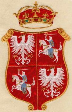 Orzeł - herb Rzeczpospolitej  Obojga Narodów