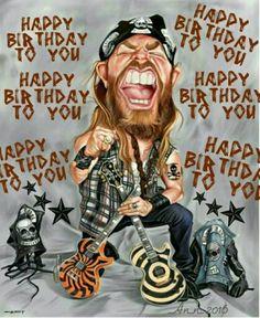 Rock 'n Roll birthday wishes