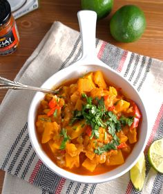 Kabocha Squash in Thai Curry Author: Le Fork Recipe type: Dinner Cuisine: Indian Ingredients For the curry: