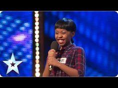 Asanda Jezile the 11yr old diva sings 'Diamonds' - Week 3 Auditions | Br...