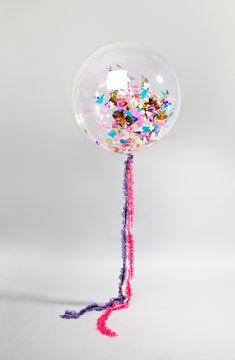 In love with these Bonbon confetti balloons <3 <3 <3