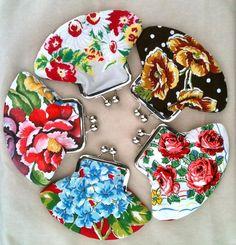 Crafts With Vintage Hankies   Spring 2012 Art Star Craft Bazaar / clutches made from vintage hankies ...