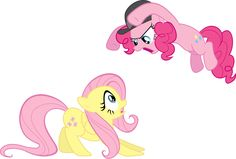 PinkiePie Attacks Fluttershy by Sulyo.deviantart.com on @deviantART