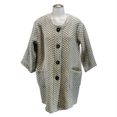 Stunning and cozy. A really cool Tunic Coat from Branigan Weaver. In stock at Tipperary Irish Store, Irish Clothing, Irish Jewelry, Celtic, Chef Jackets, Tunic, Cozy, Sweaters, Clothes