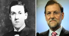 Parecidos razonables : Rajoy y Lovecraft Fictional Characters, Image, Funny, Hilarious Pictures, Photos, Fantasy Characters, Hilarious, Entertaining, Fun