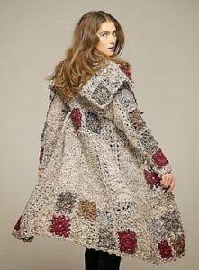 Transcendent Crochet a Solid Granny Square Ideas. Inconceivable Crochet a Solid Granny Square Ideas. Cardigan Au Crochet, Crochet Coat, Crochet Winter, Crochet Shawl, Crochet Clothes, Crochet Sweaters, Crochet Stitches, Crochet Rugs, Pull Crochet