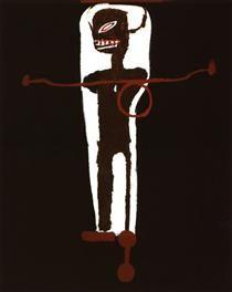 Gri Gri - Jean-Michel Basquiat