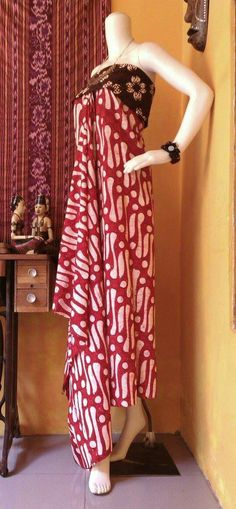 Classic pattern of Batik Bakaran