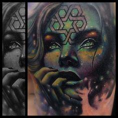 Great piece by Zack Singer #InkedMagazine #tattoo #tattoos #Inked #ink #art