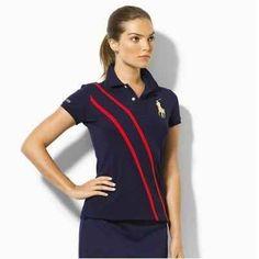 Polo Ralph Lauren Womens Stripe Navy