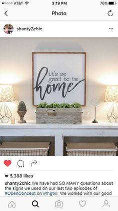 We Have Had SO MANY Questions About The Signs We Used On Our Last Two  Episodes Of On HGTV! We Worked With Our Good Friend To Design This Sign For  The Davis ...