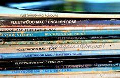 Fleetwood Mac vinyl color print. Stevie Nicks by UpAgainstTheWall