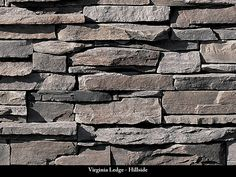 Virginia Ledge Stone Veneer / Hillside