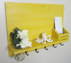 Shabby Chic Nautical Beach Cottage Flower by BeachCityCreations, $54.95