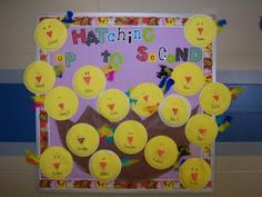 This blog post features several cute first grade and second grade bulletin board ideas.