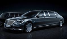マイバッハ第2のモデルは「プルマン」|Mercedes-Maybach ギャラリー