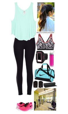 """""""Sport training #18"""" by emma-directioner-r5er ❤ liked on Polyvore featuring Victoria's Secret, NIKE, CamelBak, Incase, Bodyism, women's clothing, women, female, woman and misses"""