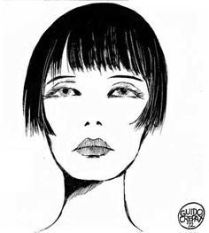 Valentina by Guido Crepax :: Valentina - Inspired to the legend of silent cinema Louise Brooks, Valentina is one of the most famous comic-strip women in the world, the only female protagonist ever. She's appreciated not only by men, for whom she embodies an elegant, sensual and refined dream, but also by women, as an icon of independence, charm and seduction.