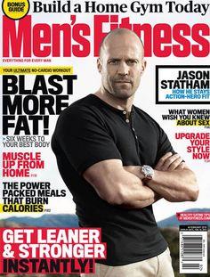Jason Statham Covers Men's Fitness February 2013