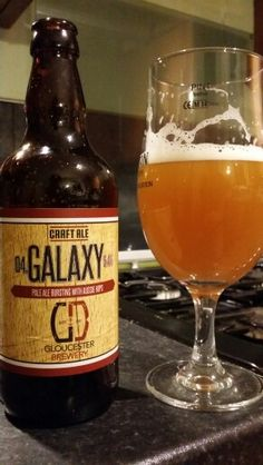 Gloucester Brewery 04 Galaxy Pale Ale