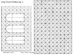 Icing Church Pattern, Pg 2 Page two of Icing Church Pattern.