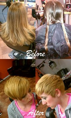 Beautiful transformation by our very own Deanna Shearer
